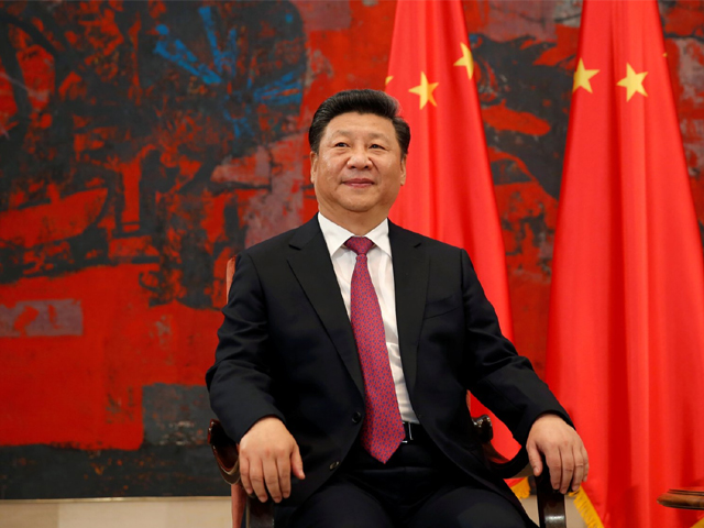 Chinese President Xi Jinping looks on during a meeting in Belgrade, Serbia, on June 18, 2016. PHOTO: REUTERS