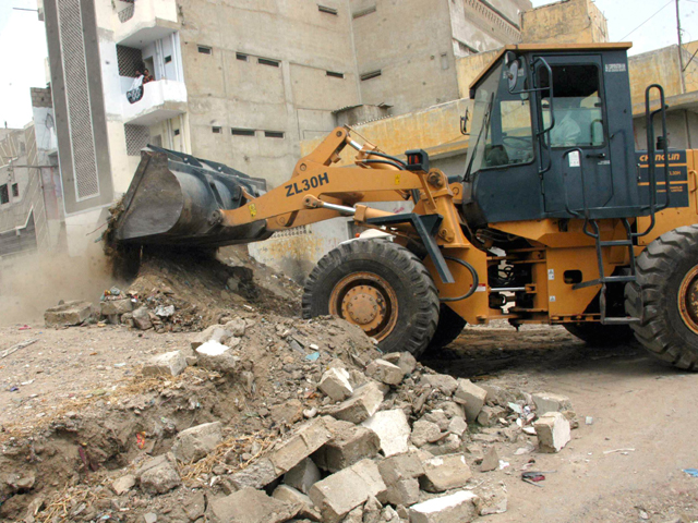 occupied encroachments removal demanded