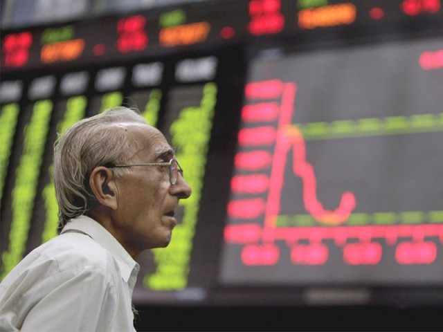 """""""KSE-100 index is up by over 93% since January 2012 and the rally is likely to continue,"""" Standard Capital Securities CEO Naushad H Chamdia. PHOTO: REUTERS"""