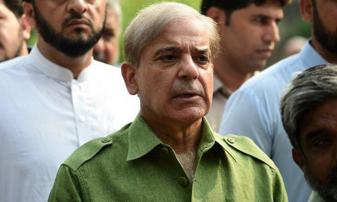 shehbaz sharif arrives in karachi on two day visit