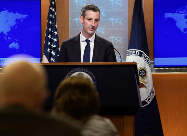 us state department spokesperson ned price photo reuters file