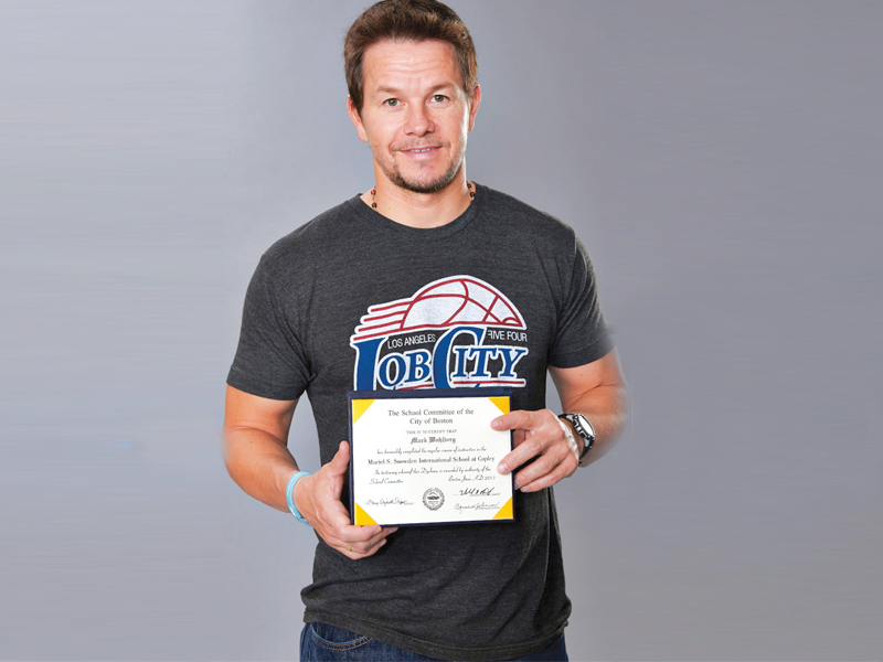 wahlberg recently wrote a column for the huffington post revealing that he has succeeded in becoming a high school graduate
