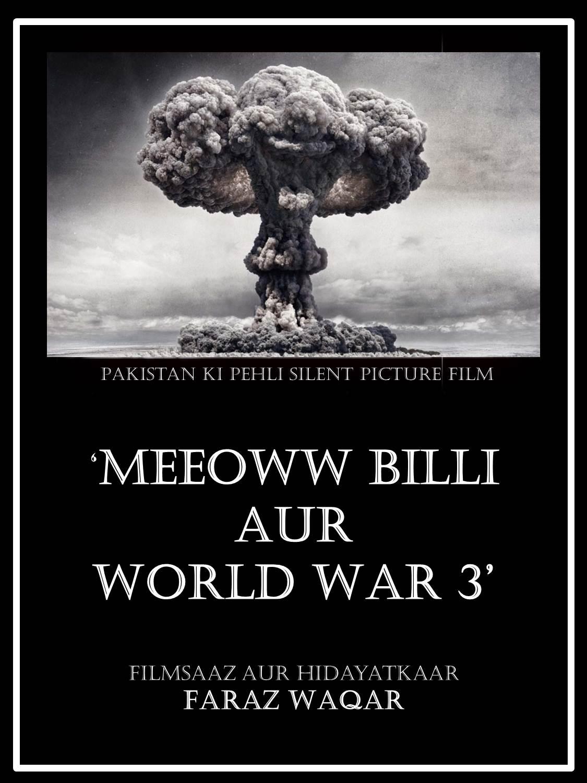 Pakistan's first silent movie is called Meeeowww Billi aur World War 3. PHOTO: FILE