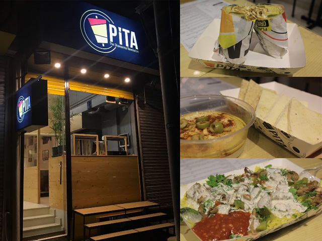 Pita, a new eatery on Bukhari Commercial, claims to add a twist to your ordinary shawarma.