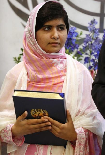 Malala Yousafzai. PHOTO: REUTERS