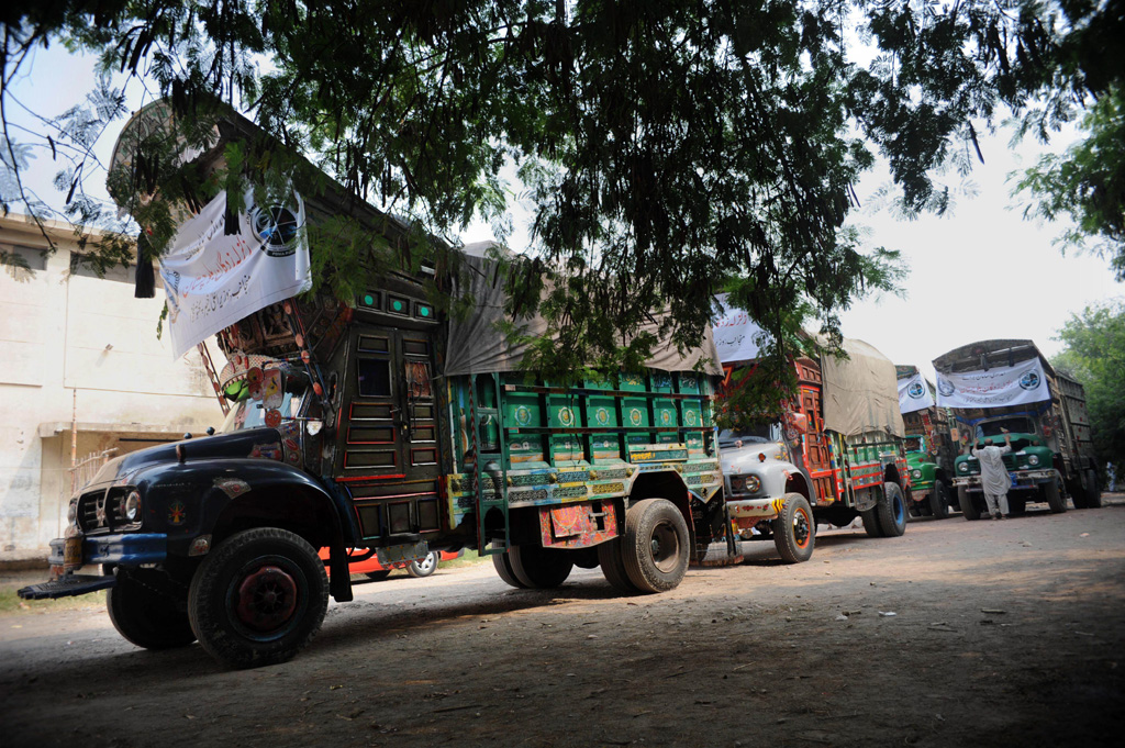 Pakistan has barred UN agencies from carrying out relief activities in Awaran. PHOTO: AFP