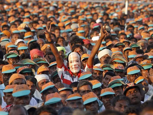 Despite the victory, Modi's political stature has not grown. PHOTO: REUTERS