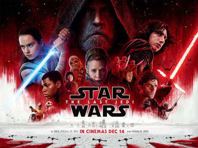 Regrettably, the modern troika of Rey, Finn and Poe lacks the necessary charisma of the holy trio of Leia, Luke and Han to pull this off.