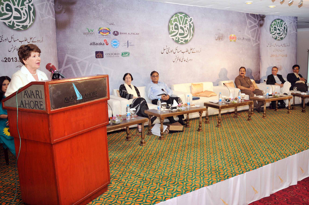 Urdu translations of Chekhov and other Russian writers were commendable, said  Dr Ludmela Waseleva. PHOTO: EXPRESS/WASEEM NIAZ