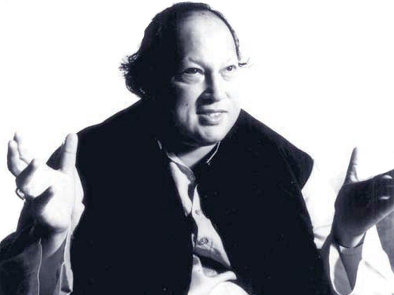 Nusrat Fateh Ali Khan was born on October 13, 1948. PHOTO: FILE