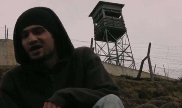 Screengrab of MC Kash in his video 'Beneath This Sky'.