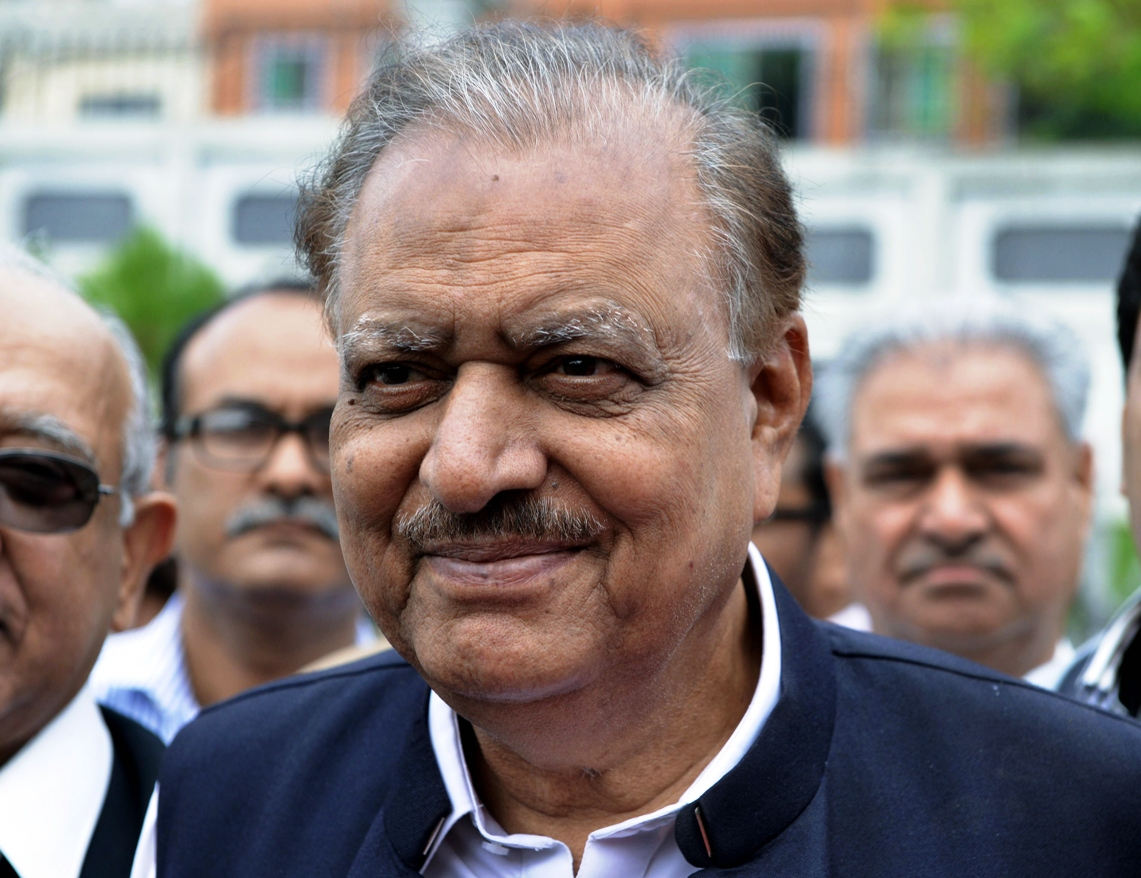 president mamnoon hussain signed the pakistan protection ordinance today photo afp file