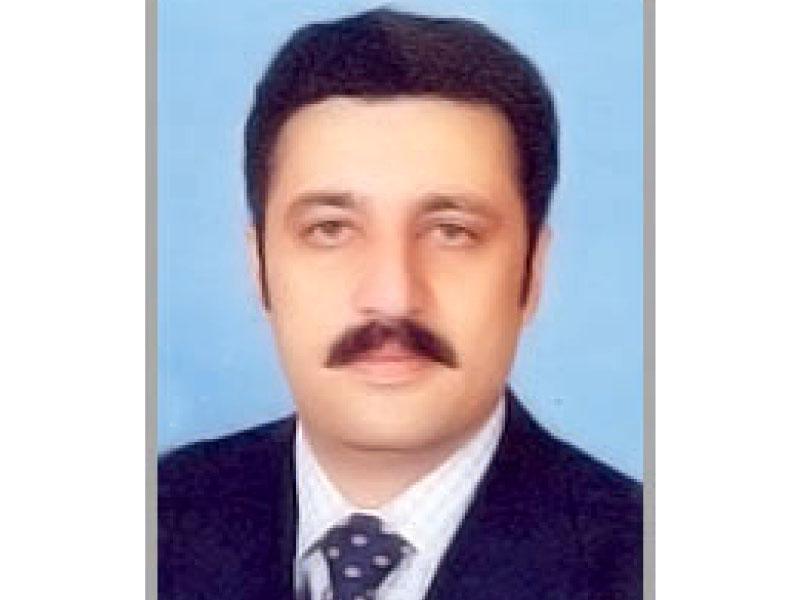 provincial law minister israrullah gandapur photo file