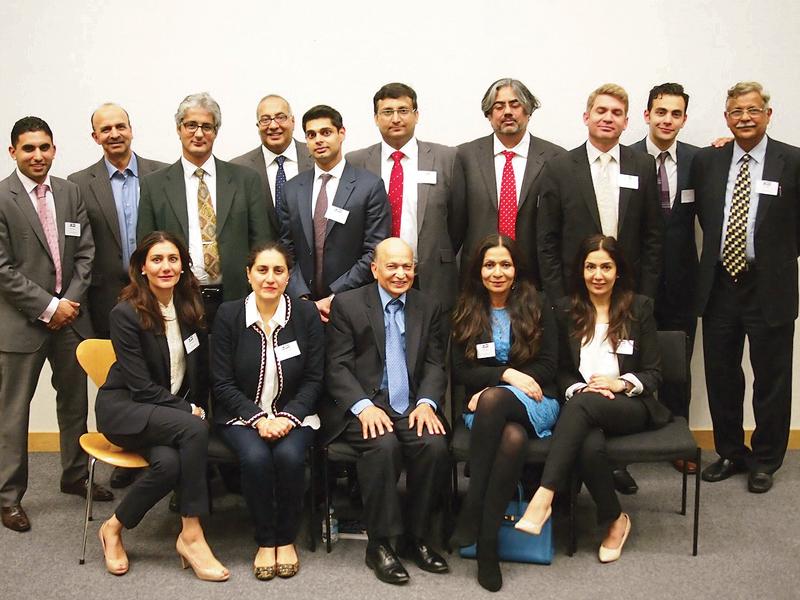 shaukat aziz faran tahir speak at launch of open london for british pakistanis photos open london