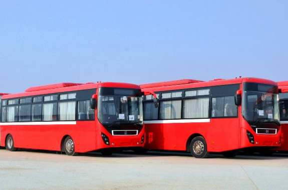 stuck wheels sindh fails to launch 1 000 new buses in karachi