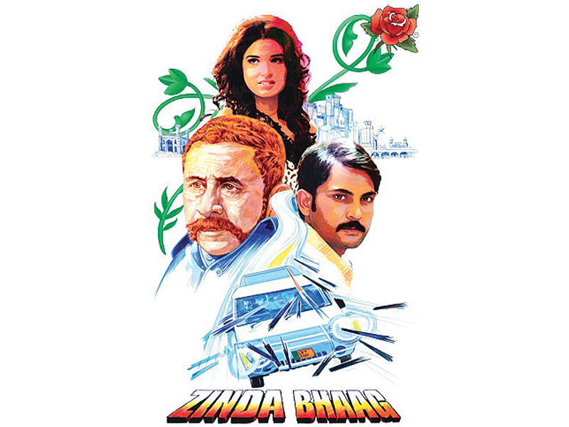 "Zinda Bhaag was commended by a foreign viewer for being a ""powerfully written and entertaining"" film.. PHOTO: FILE"