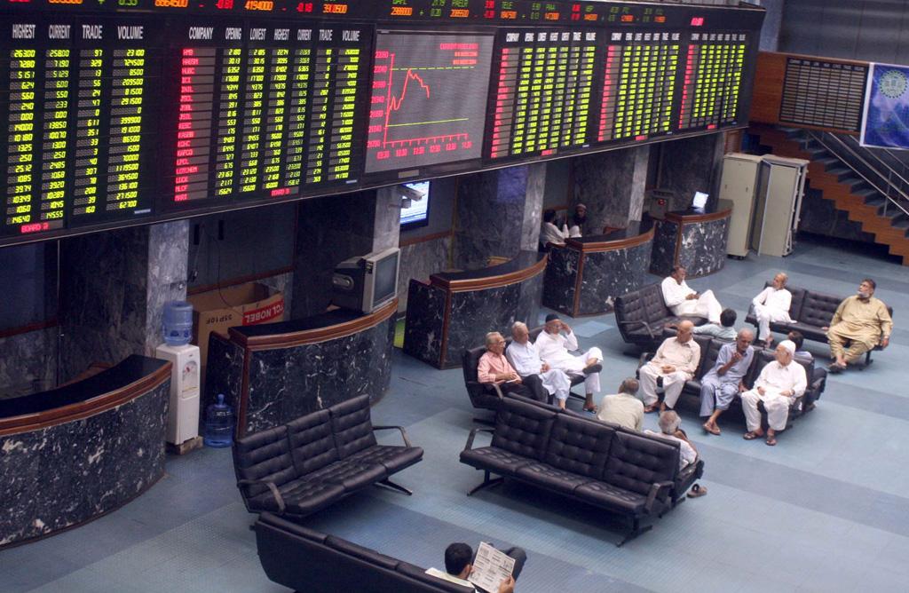 market watch kse 100 slumps as economic uncertainty rattles market