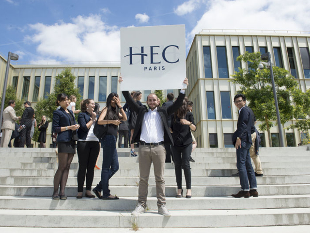 With over 50 nationalities in my cohort at HEC Paris, I could not have asked for a better international experience! PHOTO: HEC PARIS