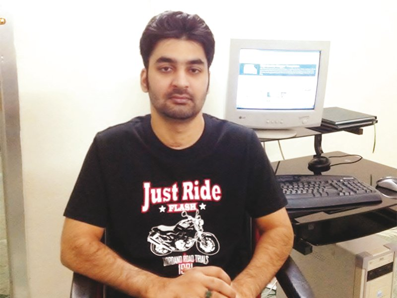 Naveed Iqbal's journey is a testimony that sometimes life gives you a second chance. SOURCE: NAVEED IQBAL