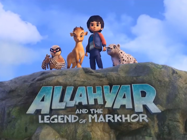 Produced by 3rd World Studios, the film's voiceover cast includes Ali Noor, Anum Zaidi, Azfar Jafri, Natasha Humera Ejaz and Hareem Farooq. PHOTO: SCREENSHOT