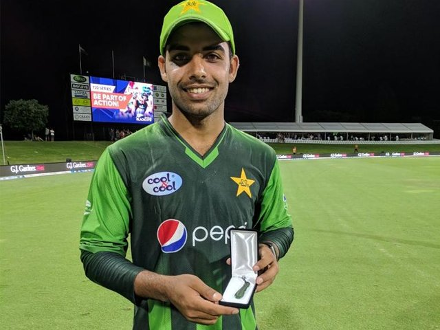 as shadab walked off with an ever glowing smile on his face and man of the match award after the third t20i against new zealand i couldn t help but pray that the devils of cricket keep their distance from this young man photo twiiter therealpcb