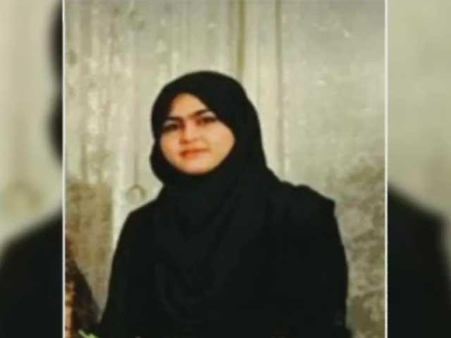 Asma Rani, a medical student, was shot dead for refusing a proposal in Kohat. The killer, Mujahid Afridi, is the nephew of PTI's local district president. PHOTO: EXPRESS