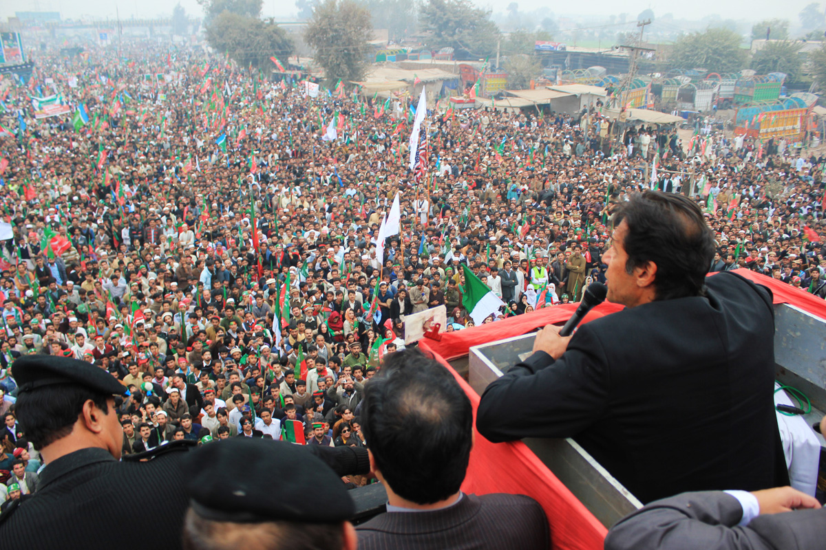 pti protest peace cannot be attained till drone strikes are stopped says imran