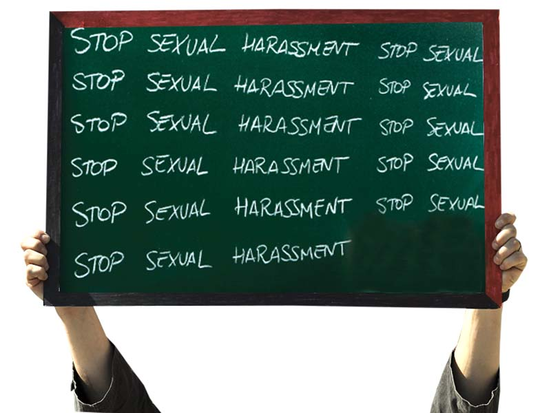 Women suffer from various forms of violence and harassment at the workplace: Secretary of Law and Justice.  PHOTO: FILE