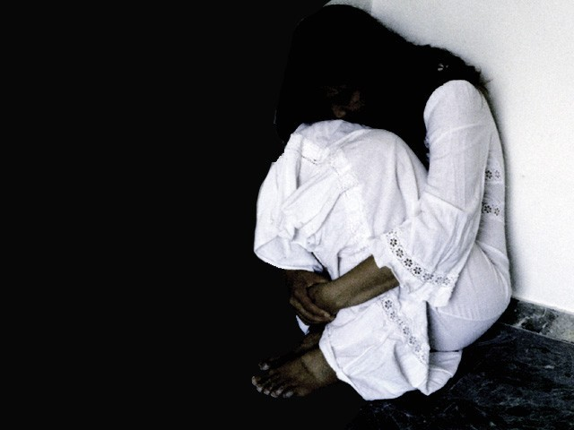 According to a recent WPF study of domestic violence in six districts of Pakistan 72 per cent of the women surveyed had undergone psychological violence by their husbands or other family members in the last year. PHOTO: FILE.