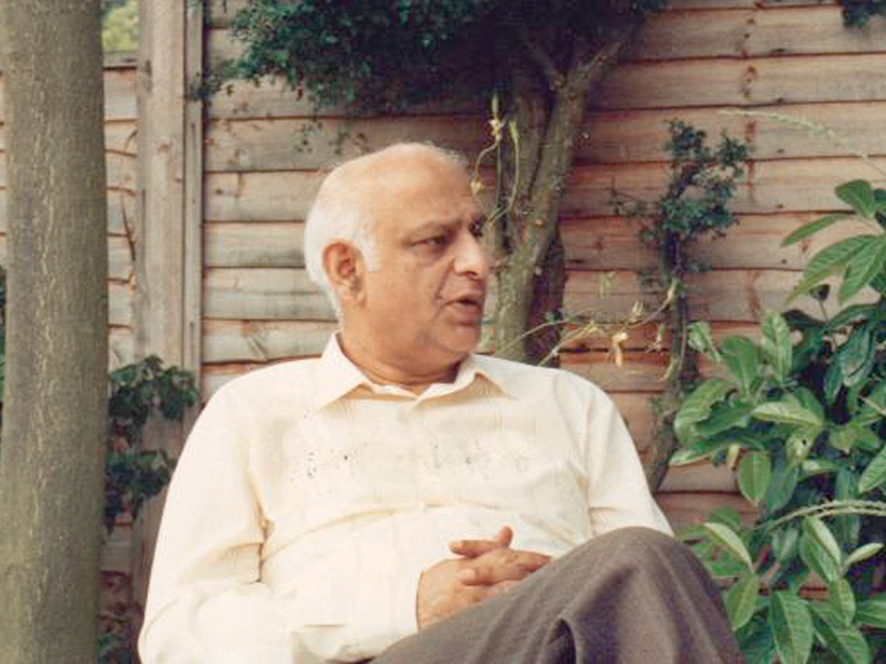 in lincoln uk august 1987 the year he passed away on 6th december photos courtesy daud kamal s family