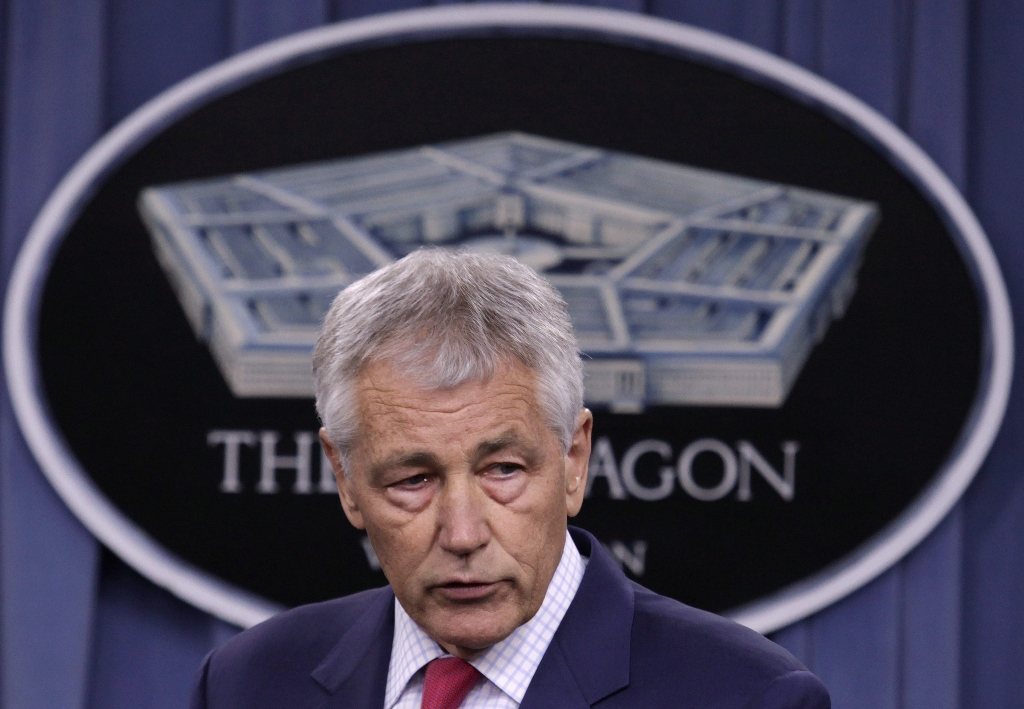 pentagon chief chuck hagel photo reuters