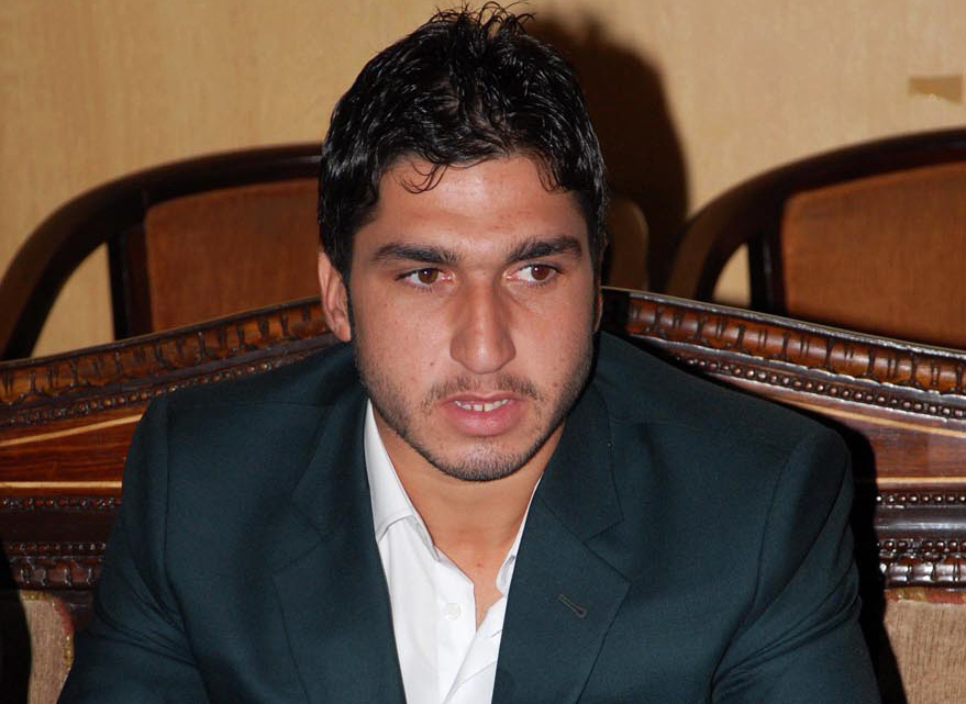 I was selected on merit after my performance in domestic cricket. It was only my misfortune that I failed to deliver on my first chance, says Usman Shinwari. PHOTO: ONLINE