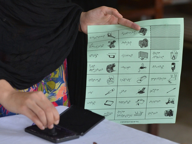 the election symbols to contesting candidates will be allotted on january 13 and the polling will take place on january 18 photo afp file