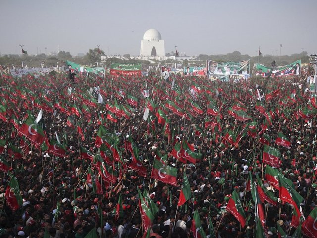 Dirty politics may have darkened Karachi, but in the vacuum which exists today, Imran's win could bring back the nostalgia people associate with the 'City of Lights'. PHOTO: REUTERS