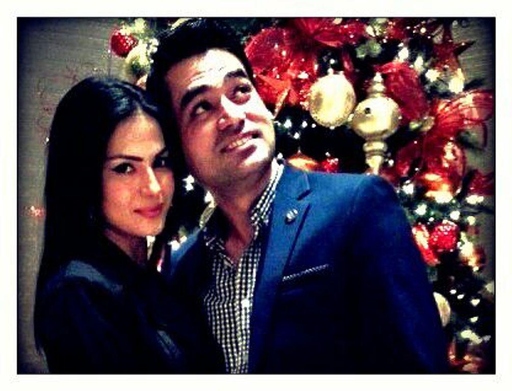 actor veena malik and her husband asad basheer khan khattak photo publicity