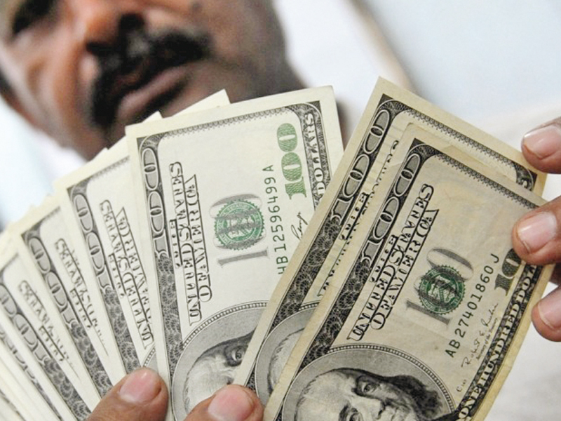 Pakistan's foreign exchange reserves have been under pressure because of continuously dwindling reserves held by the SBP. PHOTO: FILE