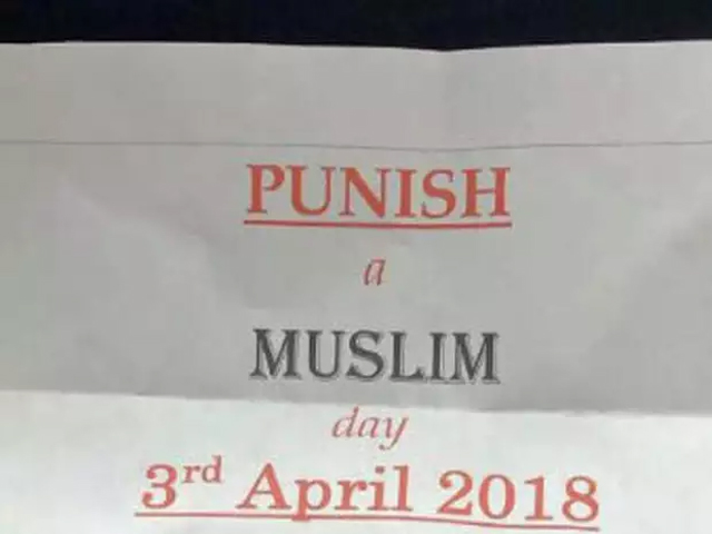 The main ethos of the letter is to instil fear into the Muslim community and make them even more vulnerable to attack through blatant hatemongering. PHOTO: TWITTER/TELLMAMAUK