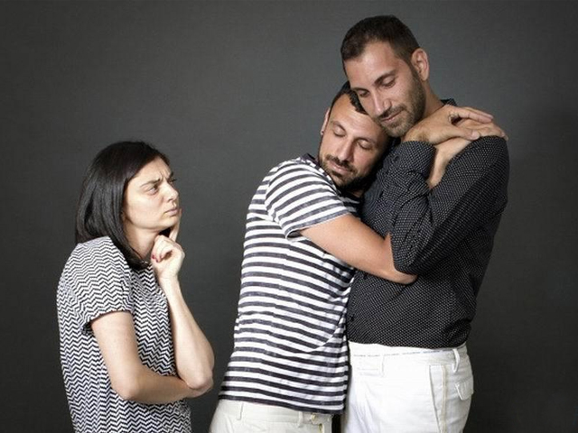 Now you're afraid your wife/husband might be gay. How did you end up in this situation? PHOTO: PHOTOS.COM