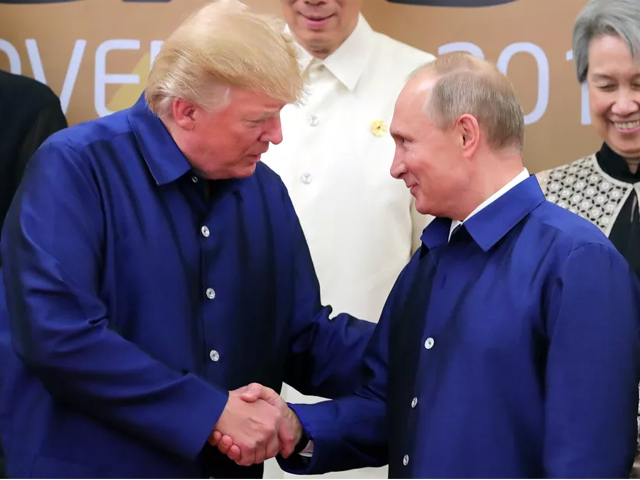 is trump s secret relationship with putin the only thing preventing another cold war