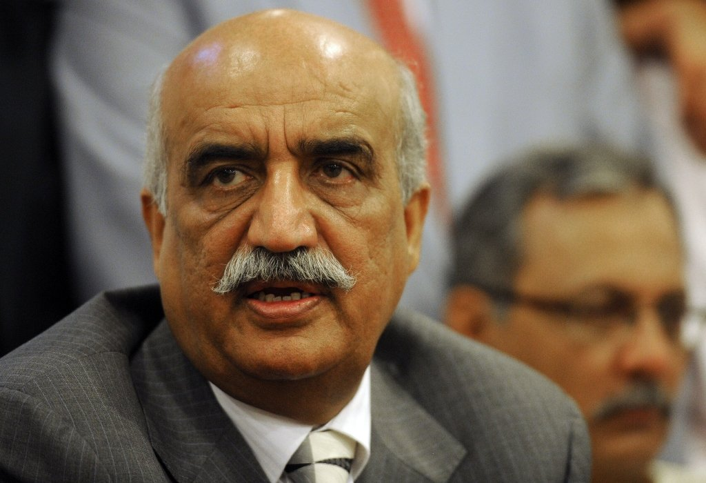 Leader of the Opposition in the National Assembly Syed Khurshid Shah. PHOTO: AFP
