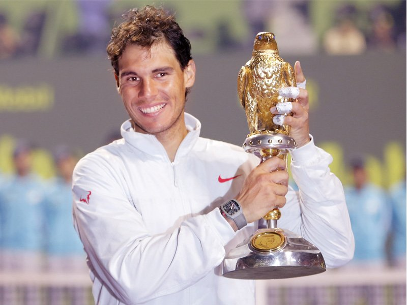 winning the qatar open title has given nadal the confidence that he is in good enough shape to challenge in a week s time for the australian open photo reuters