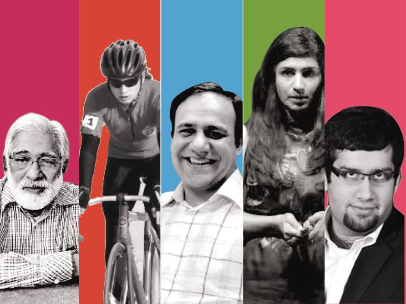 Celebrating  unsung  Pakistani  heroes who have made  the country proud. DESIGN BY SAMRA AAMIR