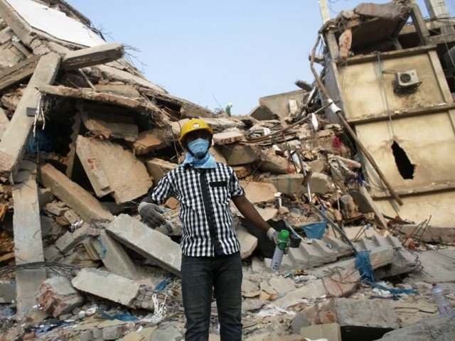 rescue workers need to get to women stuck in a disaster zone