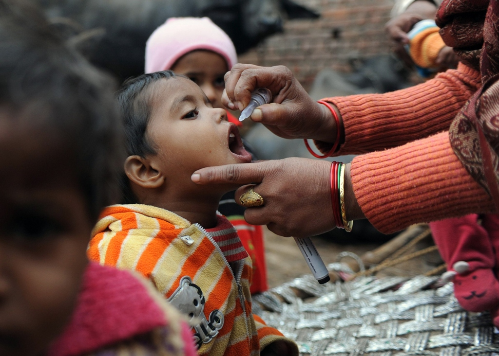 india is poised to be recognised as having successfully eradicated the virus photo afp