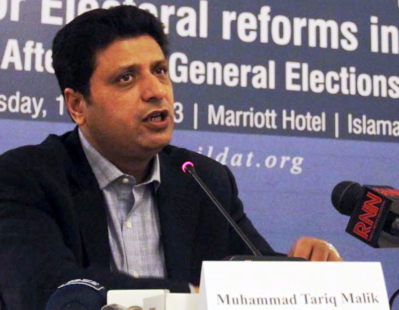 National Database and Registration Authority Chairman Tariq Malik had resigned earlier in January. PHOTO: ZAFAR ASLAM/EXPRESS/FILE