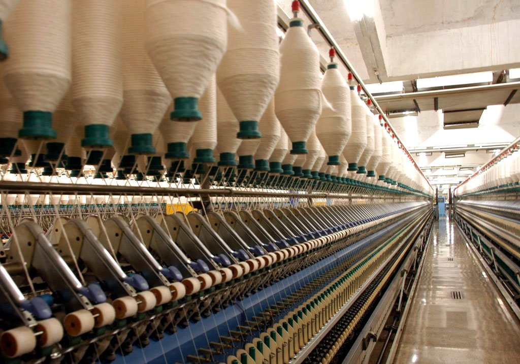 yarn and cotton cloth export has reduced by 9 and 13 respectively during december 2013 against the corresponding period according to aptma photo express file