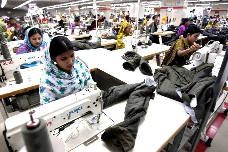 nearly 40 of garment factories in dhaka fail to pay new minimum wage announced last year to garment workers photo reuters