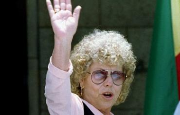 Shulamit Aloni, Israeli who spoke out for Palestinians and women's rights dies at age 85. PHOTO: REUTERS