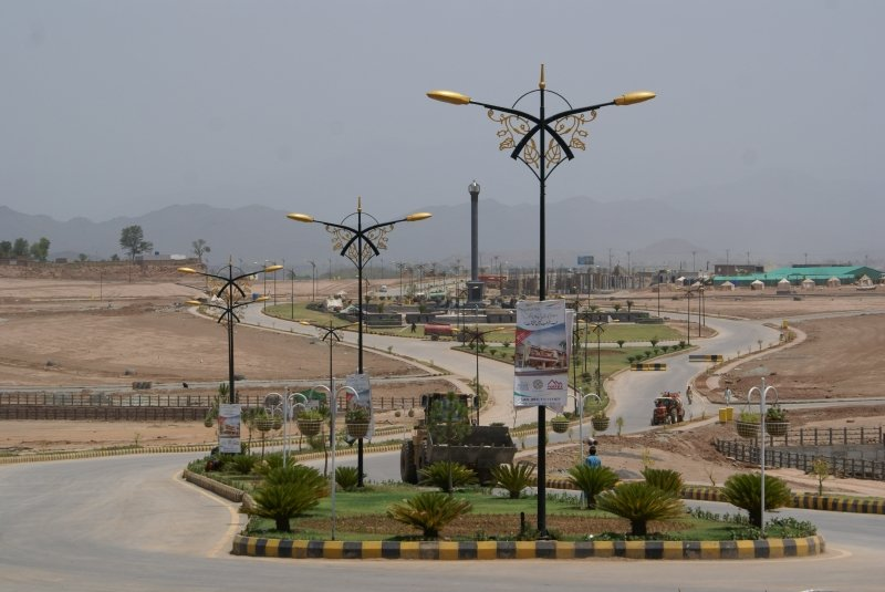 the real estate developer will allot plots to more than 0 5 million people photo bahriatown com