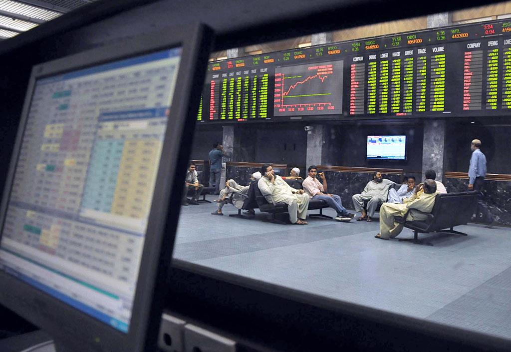 market watch kse 100 skyrockets on earnings optimism
